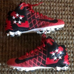 Nike Shoes - Kids Nike Field General Pro TD Red Cleats sz 4.5Y